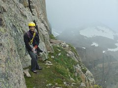Rock Climbing Photo: Table Ledge via the Casual Route, RMNP, CO.