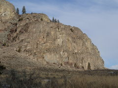 Rock Climbing Photo: West end of the Northern Crag (from approach trail...