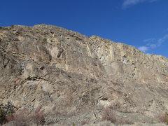 Rock Climbing Photo: Main SE Face of the Northern Crag