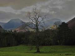 Rock Climbing Photo: Newlands Valley with Hindsgarth and Robinson. Jan ...