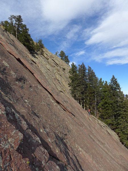 Rock Climbing Photo: 2 guys on Far Right/N Arete.
