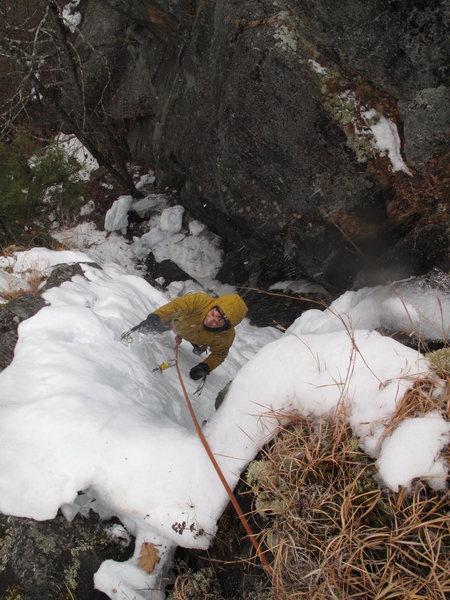 Rock Climbing Photo: A little rotten