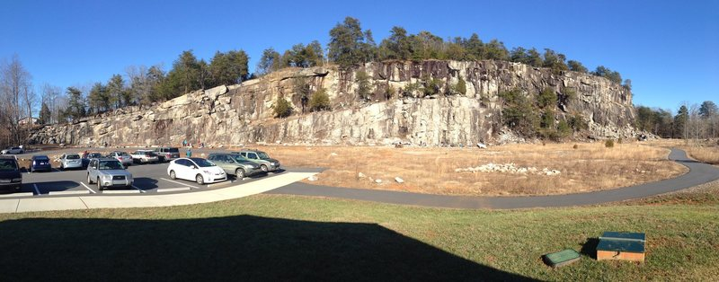 Rock Climbing Photo: Rocky Face Park, (Jan 2014)