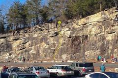 Rock Climbing Photo: Hang Time