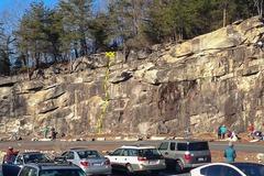 Rock Climbing Photo: One step