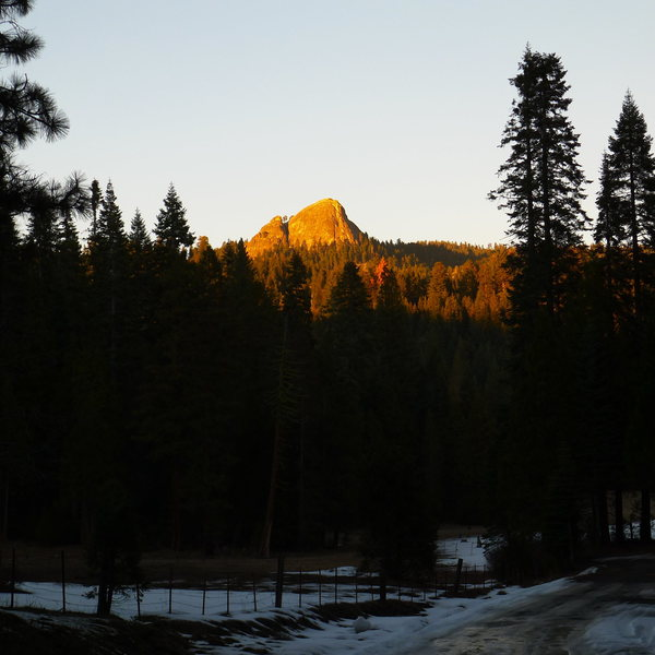 Rock Climbing Photo: Fresno Dome at Kelty Meadows.