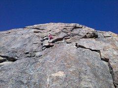 Rock Climbing Photo: Lucas Price Jan.19/2014. photo by mom.