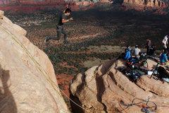 Rock Climbing Photo: Fly, you fools!