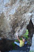 "Rock Climbing Photo: Justin ""Mardy"" Smith. A wonderful man on..."