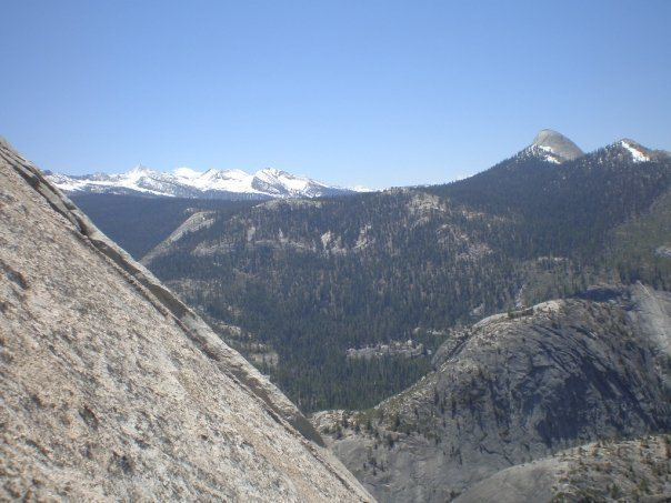 The view from Snake Dike, pitch1.