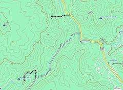 Rock Climbing Photo: Big Elk Bouldering (left) & Kenny North approaches...