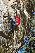 Rock Climbing Photo: Dan, sending!