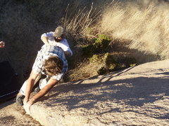 Rock Climbing Photo: Cochise Stronghold boulders