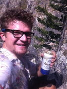 Rock Climbing Photo: Fuel for climb