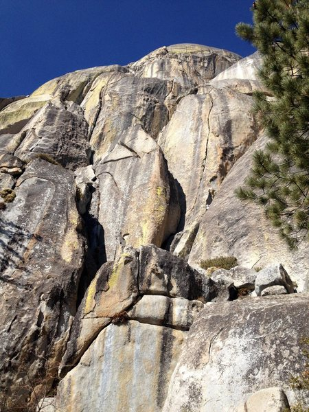 Rock Climbing Photo: the South Face of Hermit Spire