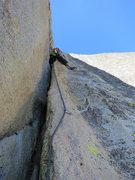 Rock Climbing Photo: P5 wideness. Photo: Erik Harz