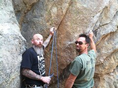 Rock Climbing Photo: Holcomb Valley