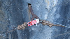 Rock Climbing Photo: Conrad should get a commission; above the upper br...