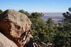 Rock Climbing Photo: January bouldering.