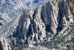 Rock Climbing Photo: Overview of Hands Canyon from fixed wing aircraft....