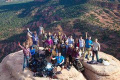 Rock Climbing Photo: keg on top of the Mace! Thank you everyone, for ma...