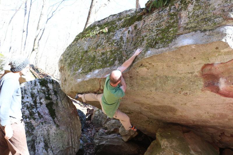 Rock Climbing Photo: Working Rapunzel