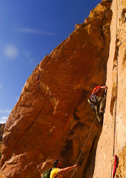 Fun 5.8 route, protected very well.