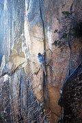 Rock Climbing Photo: Dan Montague on The Crackin - January 20th, 2014 P...
