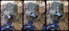 Rock Climbing Photo: Kyle Hicks completes 'The Hexing'.