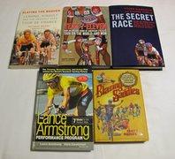 Rock Climbing Photo: Cycling books