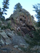 Rock Climbing Photo: Warm Up Rock.