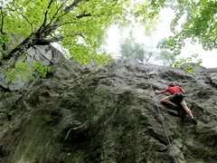 Rock Climbing Photo: Piece of Cake     Jimmy Cliff