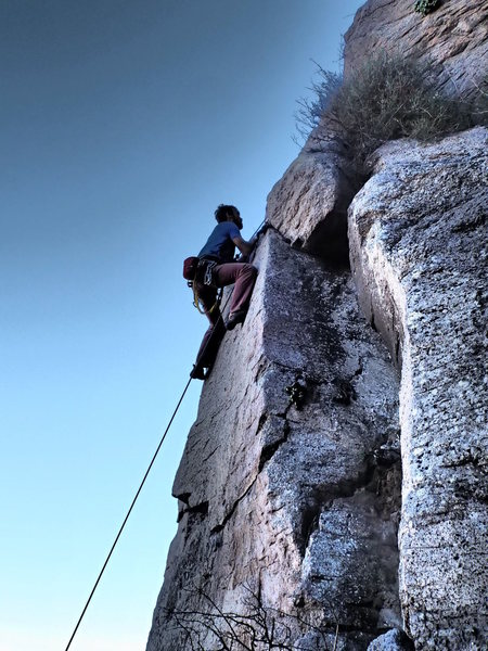 Rock Climbing Photo: Valle Azteca crag