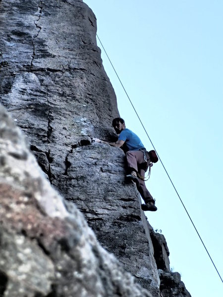 Valle Azteca crag