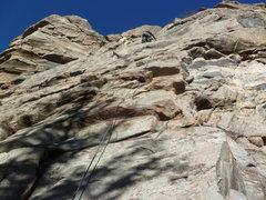Rock Climbing Photo: Kevin on the climb.