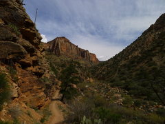 Rock Climbing Photo: heading toward the N Rim
