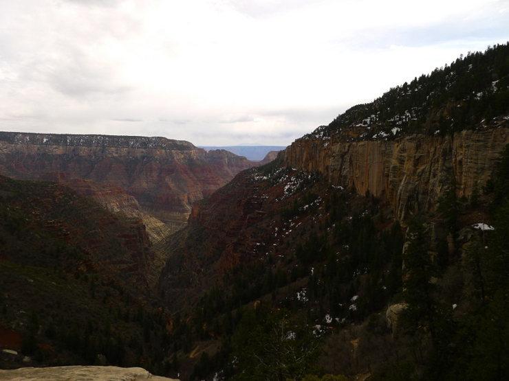 Rock Climbing Photo: descending back down the N Rim on my r2r2r death m...