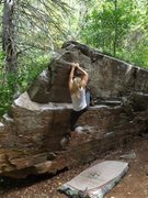 Rock Climbing Photo: The Gate V2