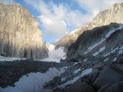 Rock Climbing Photo: Bugaboo-Snowpatch Col approach