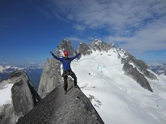 Rock Climbing Photo: West Ridge Pigeon Spire