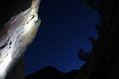 Rock Climbing Photo: Kloof at night!