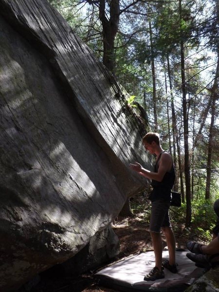 Rock Climbing Photo: Ken's Super Slab