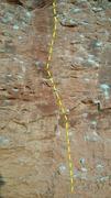 Rock Climbing Photo: The bottom half of vertical smile.