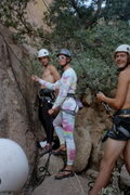 Rock Climbing Photo: good belay