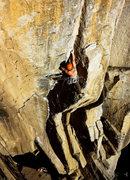 Rock Climbing Photo: James Barnett on Cookie Monster