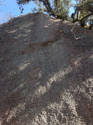 Rock Climbing Photo: Event Horizon climbs the right side of the Lost Wa...