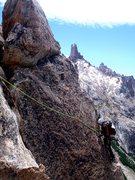 Rock Climbing Photo: Arete pitch 2