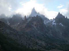 Rock Climbing Photo: Frey in the mist.