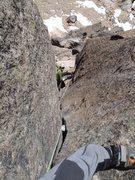 Rock Climbing Photo: Clemenzo chimney!