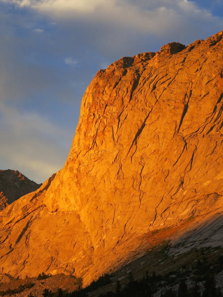 Evening light on Haystack